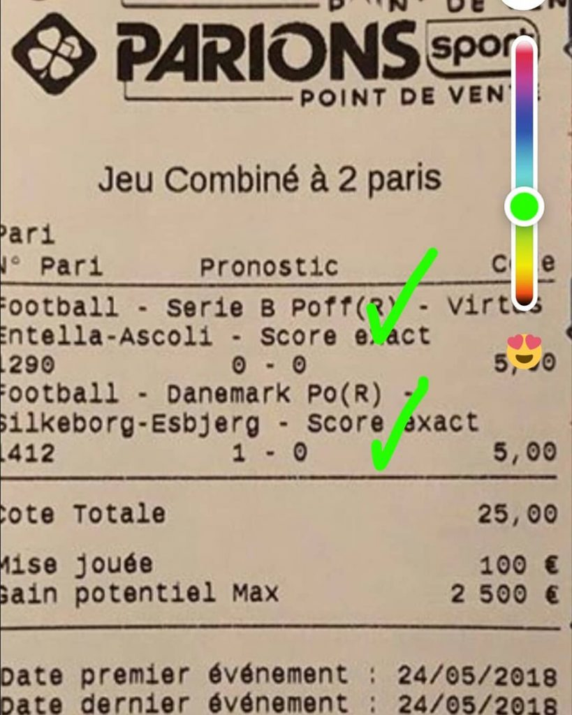 PARIS FUN GRATUIT : DOUBLE SCORE EXACT X 20